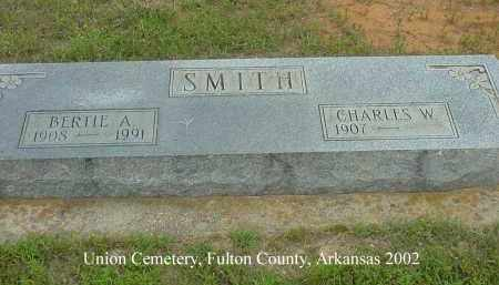 SMITH, BERTIE A. - Fulton County, Arkansas | BERTIE A. SMITH - Arkansas Gravestone Photos