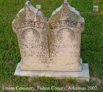 SMITH, J. M. - Fulton County, Arkansas | J. M. SMITH - Arkansas Gravestone Photos