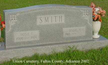 SMITH, JESSIE W. - Fulton County, Arkansas | JESSIE W. SMITH - Arkansas Gravestone Photos