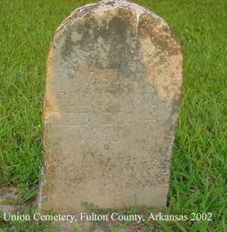 SMITH, JOHN VAN - Fulton County, Arkansas | JOHN VAN SMITH - Arkansas Gravestone Photos