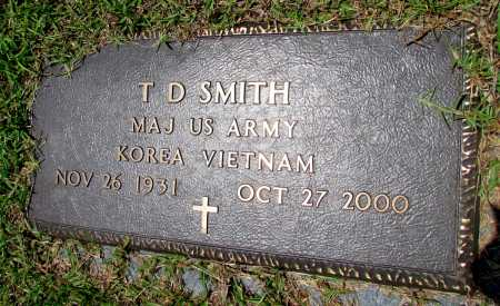 SMITH (VETERAN 2 WARS), T D - Fulton County, Arkansas | T D SMITH (VETERAN 2 WARS) - Arkansas Gravestone Photos