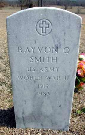 SMITH (VETERAN WWII), RAYVON Q - Fulton County, Arkansas | RAYVON Q SMITH (VETERAN WWII) - Arkansas Gravestone Photos