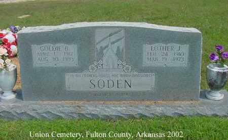 SODEN, LOTHER J. - Fulton County, Arkansas | LOTHER J. SODEN - Arkansas Gravestone Photos