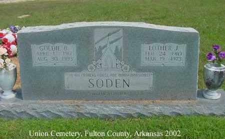 SODEN, LOTHER J. - Fulton County, Arkansas | LOTHER J. SODEN - Arkansas Gravestone Photos