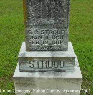 STROUD, GEORGE  RAMSEY - Fulton County, Arkansas | GEORGE  RAMSEY STROUD - Arkansas Gravestone Photos