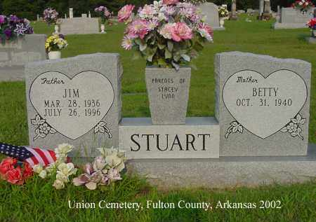 "STUART, JIMMY RAY ""JIM"" - Fulton County, Arkansas 