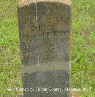 SUGGS, C. W. - Fulton County, Arkansas | C. W. SUGGS - Arkansas Gravestone Photos