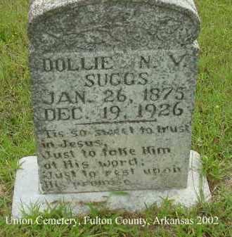 SUGGS, DOLLY N. V. - Fulton County, Arkansas | DOLLY N. V. SUGGS - Arkansas Gravestone Photos