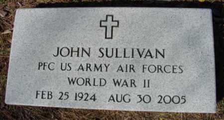 SULLIVAN (VETERAN WWII), JOHN - Fulton County, Arkansas | JOHN SULLIVAN (VETERAN WWII) - Arkansas Gravestone Photos