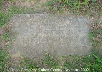 TALLEY, MARTHA MELINDA - Fulton County, Arkansas | MARTHA MELINDA TALLEY - Arkansas Gravestone Photos