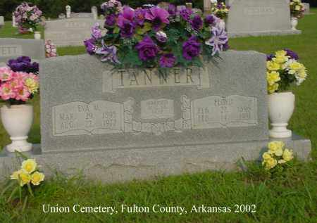 TANNER, EVA M. - Fulton County, Arkansas | EVA M. TANNER - Arkansas Gravestone Photos