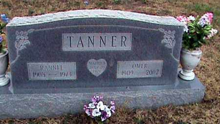 TANNER, RANNEL - Fulton County, Arkansas | RANNEL TANNER - Arkansas Gravestone Photos