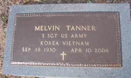 TANNER (VETERAN 2 WARS), MELVIN - Fulton County, Arkansas | MELVIN TANNER (VETERAN 2 WARS) - Arkansas Gravestone Photos