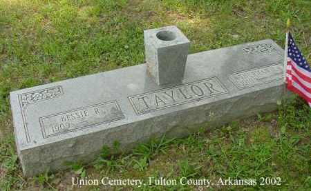TAYLOR, THURMAN L. - Fulton County, Arkansas | THURMAN L. TAYLOR - Arkansas Gravestone Photos
