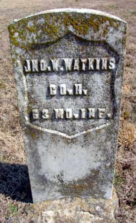 WATKINS (VETERAN UNION), JOHN W - Fulton County, Arkansas | JOHN W WATKINS (VETERAN UNION) - Arkansas Gravestone Photos