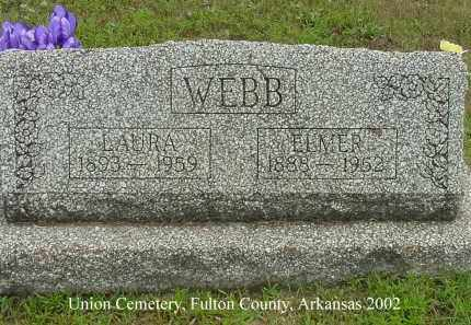 WEBB, ELMER S. - Fulton County, Arkansas | ELMER S. WEBB - Arkansas Gravestone Photos