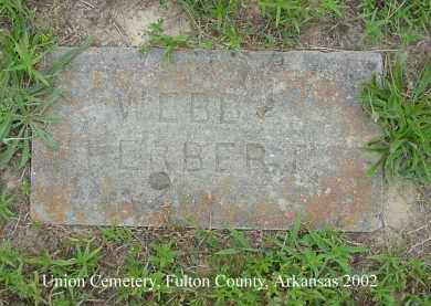 WEBB, HERBERT - Fulton County, Arkansas | HERBERT WEBB - Arkansas Gravestone Photos