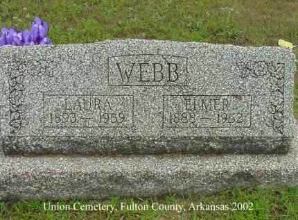 WEBB, LAURA - Fulton County, Arkansas | LAURA WEBB - Arkansas Gravestone Photos