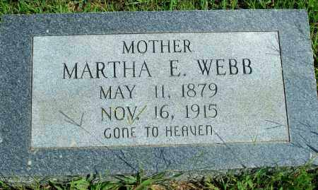 WEBB, MARTHA E. - Fulton County, Arkansas | MARTHA E. WEBB - Arkansas Gravestone Photos