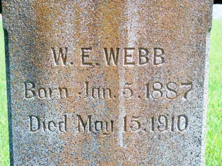 WEBB, WILLIAM E. - Fulton County, Arkansas | WILLIAM E. WEBB - Arkansas Gravestone Photos