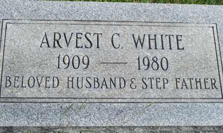 WHITE, ARVEST C. - Fulton County, Arkansas | ARVEST C. WHITE - Arkansas Gravestone Photos