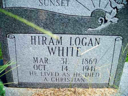 WHITE, HIRAM LOGAN - Fulton County, Arkansas | HIRAM LOGAN WHITE - Arkansas Gravestone Photos