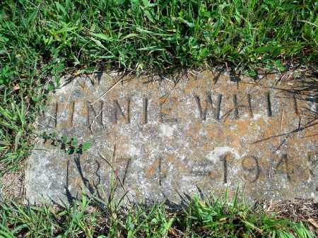 GABLER WHITE, MINNIE - Fulton County, Arkansas | MINNIE GABLER WHITE - Arkansas Gravestone Photos