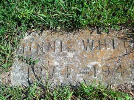 WHITE, MINNIE - Fulton County, Arkansas | MINNIE WHITE - Arkansas Gravestone Photos