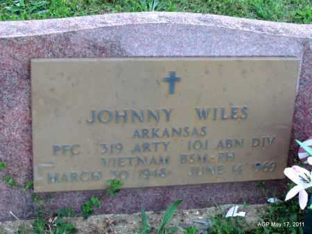 WILES (VETERAN VIET), JOHNNY - Fulton County, Arkansas | JOHNNY WILES (VETERAN VIET) - Arkansas Gravestone Photos