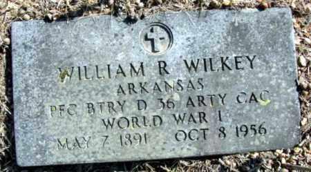 WILKEY (VETERAN WWI), WILLIAM R - Fulton County, Arkansas | WILLIAM R WILKEY (VETERAN WWI) - Arkansas Gravestone Photos