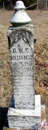 WILLIAMSON, GEORGE WASHINGTON COLUMBUS - Fulton County, Arkansas | GEORGE WASHINGTON COLUMBUS WILLIAMSON - Arkansas Gravestone Photos