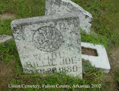 WOOD, BILLIE JOE - Fulton County, Arkansas | BILLIE JOE WOOD - Arkansas Gravestone Photos