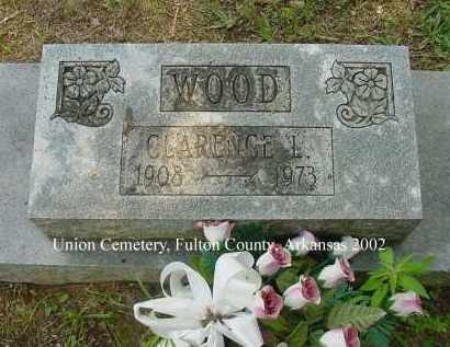 WOOD, CLARENCE L. - Fulton County, Arkansas | CLARENCE L. WOOD - Arkansas Gravestone Photos