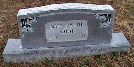 WOOD, MARY J. - Fulton County, Arkansas | MARY J. WOOD - Arkansas Gravestone Photos