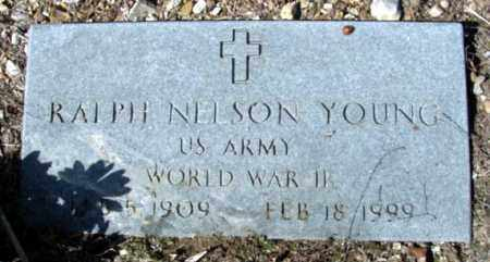 YOUNG (VETERAN WWII), RALPH NELSON - Fulton County, Arkansas | RALPH NELSON YOUNG (VETERAN WWII) - Arkansas Gravestone Photos