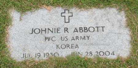 ABBOTT (VETERAN KOR), JOHNIE R. - Garland County, Arkansas | JOHNIE R. ABBOTT (VETERAN KOR) - Arkansas Gravestone Photos