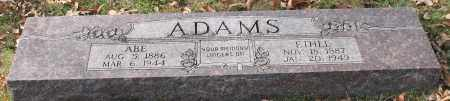 ADAMS, ABE - Garland County, Arkansas | ABE ADAMS - Arkansas Gravestone Photos