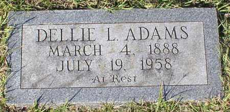 ADAMS, DELLIE L - Garland County, Arkansas | DELLIE L ADAMS - Arkansas Gravestone Photos