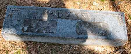 ADKINS, SIDNEY B. - Garland County, Arkansas | SIDNEY B. ADKINS - Arkansas Gravestone Photos