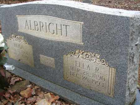 ALBRIGHT, HUGH - Garland County, Arkansas | HUGH ALBRIGHT - Arkansas Gravestone Photos
