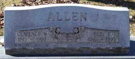 ALLEN, RUBY F. - Garland County, Arkansas | RUBY F. ALLEN - Arkansas Gravestone Photos