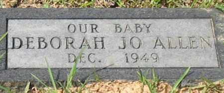 ALLEN, DEBORAH JO - Garland County, Arkansas | DEBORAH JO ALLEN - Arkansas Gravestone Photos