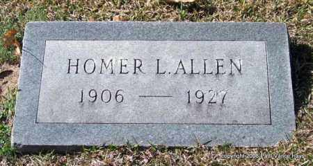 ALLEN, HOMER L. - Garland County, Arkansas | HOMER L. ALLEN - Arkansas Gravestone Photos
