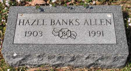 BANKS ALLEN, HAZEL - Garland County, Arkansas | HAZEL BANKS ALLEN - Arkansas Gravestone Photos