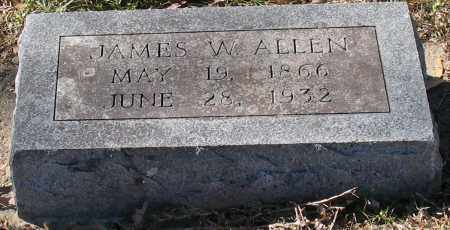 ALLEN, JAMES W. - Garland County, Arkansas | JAMES W. ALLEN - Arkansas Gravestone Photos
