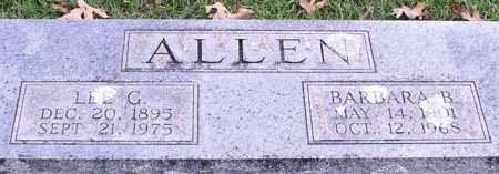 ALLEN, LEE G. - Garland County, Arkansas | LEE G. ALLEN - Arkansas Gravestone Photos