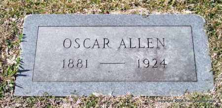 ALLEN, OSCAR - Garland County, Arkansas | OSCAR ALLEN - Arkansas Gravestone Photos