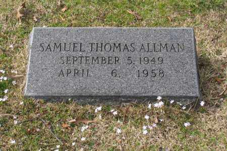 ALLMAN, SAMUEL THOMAS - Garland County, Arkansas | SAMUEL THOMAS ALLMAN - Arkansas Gravestone Photos