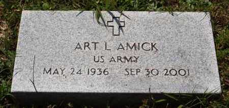 AMICK (VETERAN), ART L - Garland County, Arkansas | ART L AMICK (VETERAN) - Arkansas Gravestone Photos