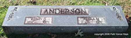 ANDERSON, EDWIN G. - Garland County, Arkansas | EDWIN G. ANDERSON - Arkansas Gravestone Photos